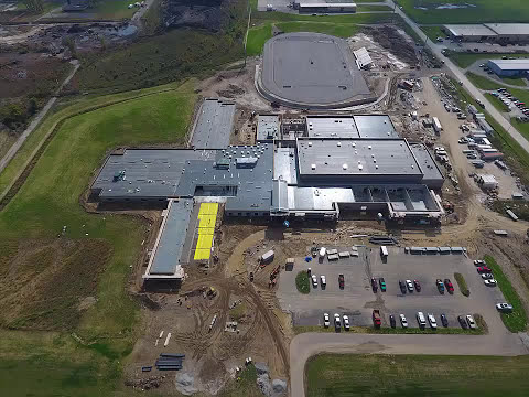 East Noble Middle School Construction 10-13-2017