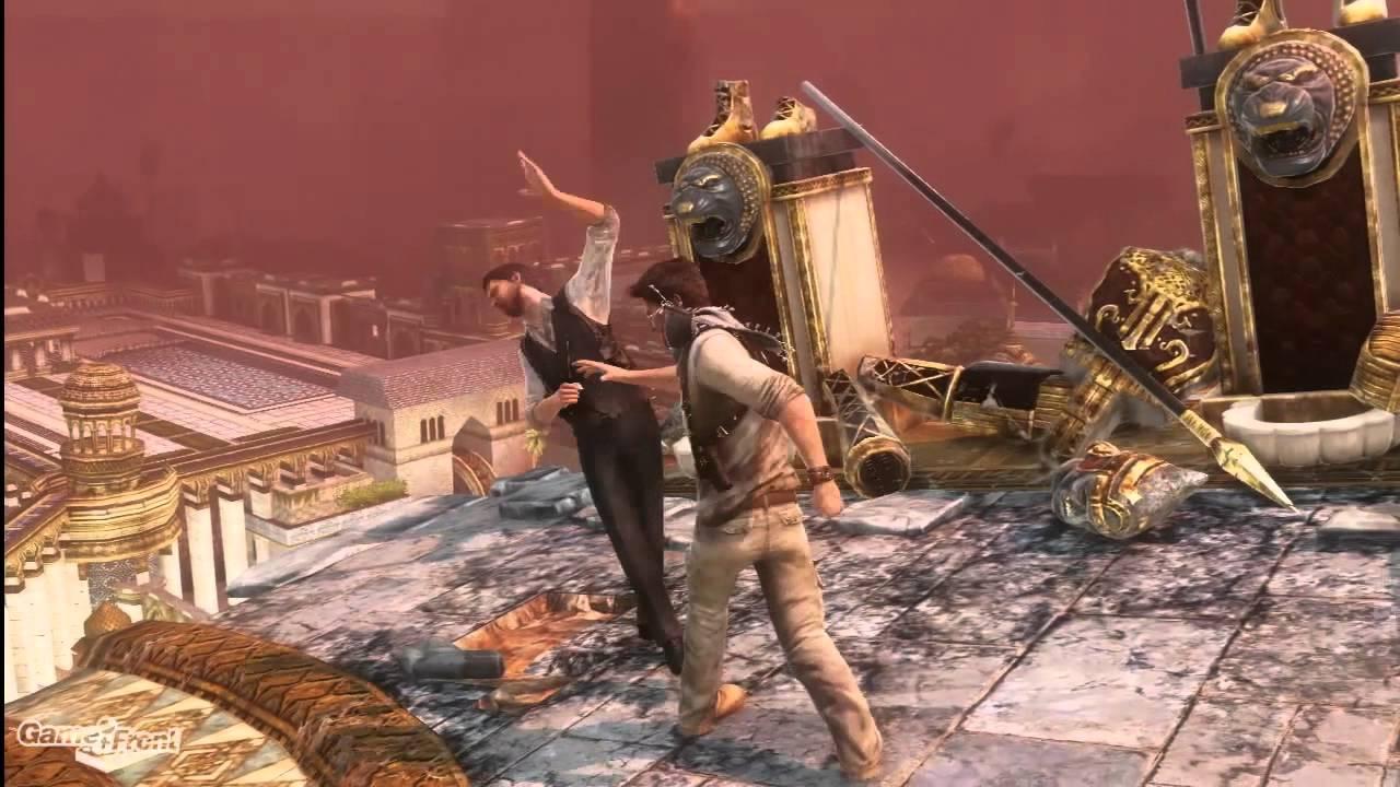 Uncharted 3 Walkthrough - PT. 34 - Chapter 22 Part 2 ...