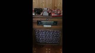 магнита-радиола немецкий SONATA 1954 г. КАБИНЕТНЫЙ