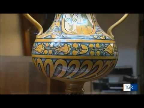 Museo Della Ceramica Di Deruta.Museo Della Ceramica Di Deruta Tgr Rai Umbria
