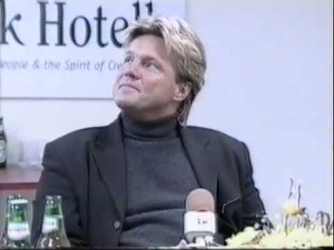 Dieter Bohlen's Interview during concert in Estonia 21.03.1998, part 3
