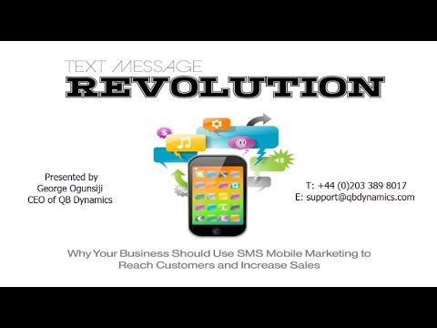 The Text Messaging Revolution - Webinar Recording