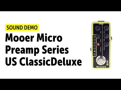 Mooer Micro Preamp Series US ClassicDeluxe