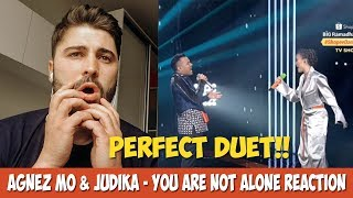 Download lagu AGNEZ MO & Judika - You Are Not Alone (Michael Jackson) | REACTION