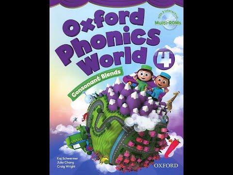 Oxford Phonics World 4 CD2 English for kids