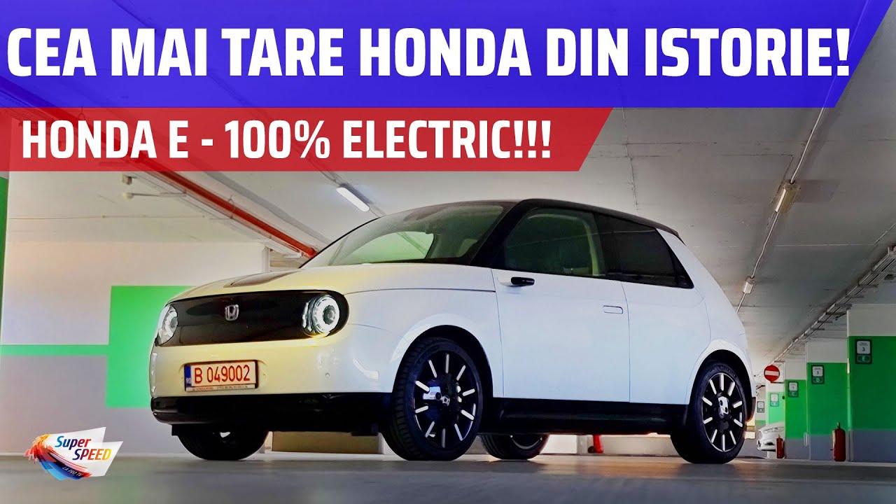 MAȘINA ELECTRICĂ Honda este fabuloasă: Honda e Advance 2020