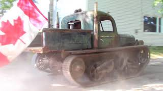 Tank driving, turning on a dime