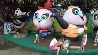 Сафари-парк Chimelong в Гуанчжоу. Катаемся на поезде по сафари.(Цена годового билета в 4 места - 1680 взрослый, детский 1080. Вход строго по отпечатку пальца и по фотографии...., 2016-08-20T02:42:29.000Z)