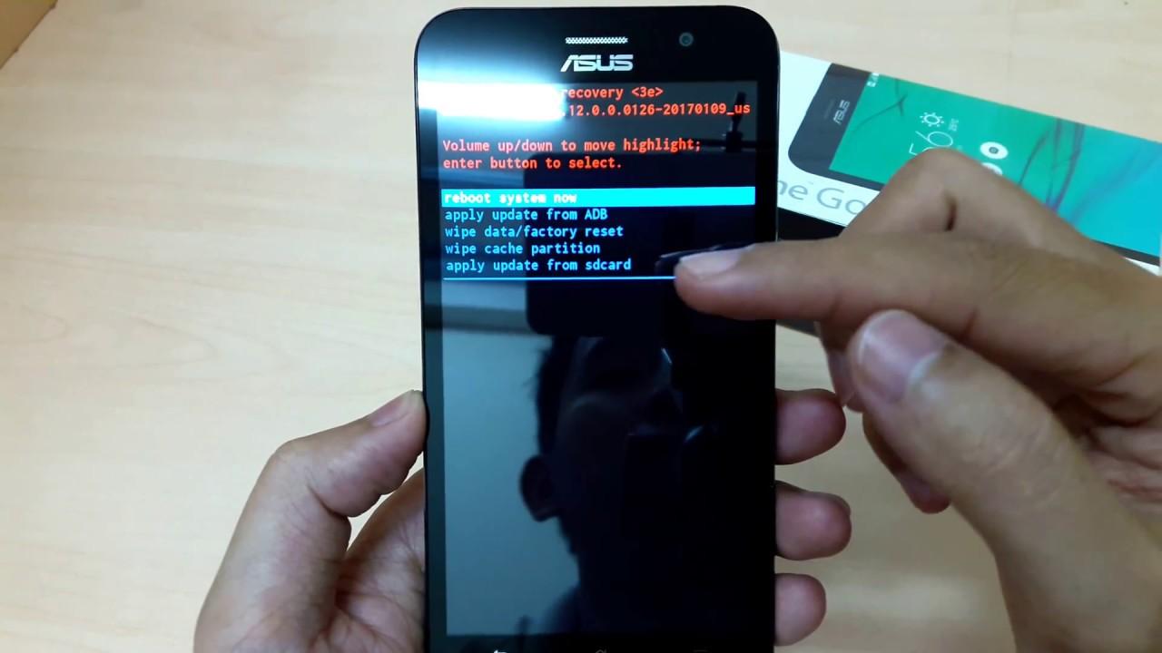Hard Reset ASUS Zenfone 2 GO ZB500KG