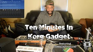 T. M. I. (Ten Minutes In) Episode 4 Korg Gadget Beatmaking Video