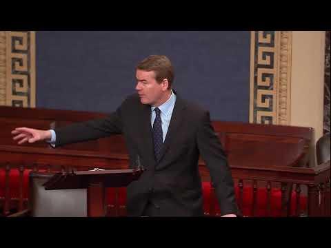 Sen. Michael Bennet Speaks on Senate Floor about GOP Tax Plan