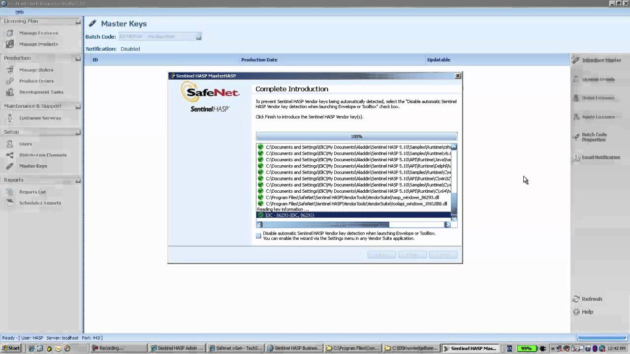 Sentinel Support - How to download vendor library and troubleshoot error  message