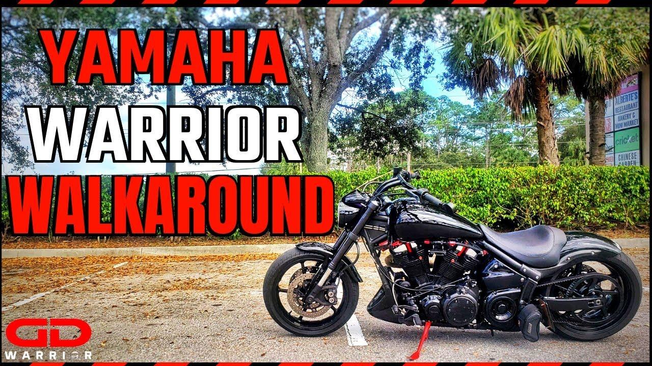 yamaha yamahawarrior1700 roadstarwarrior [ 1280 x 720 Pixel ]