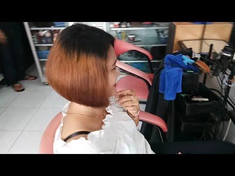 Long To Bob Haircut Tutorial