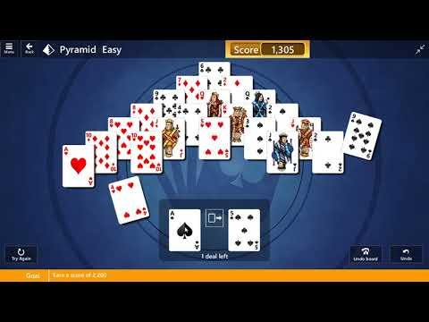 National Solitaire Day Game #20 | Easy Street May 22, 2018 Event