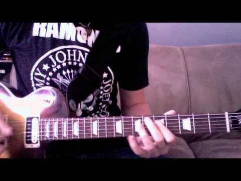 Cinderella Lead Guitar (tunning C# G# C# F# A# D#