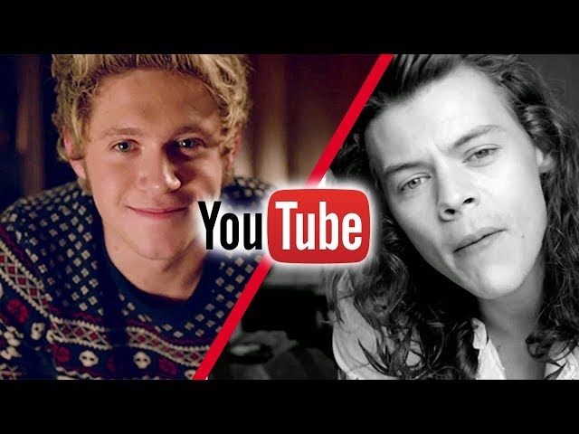 Most Viewed One Direction Videos