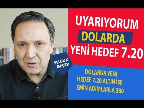 UYARMADI DEMEYİN DOLARDA YENİ HEDEF 7.20 !!!