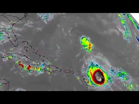 NASA video shows Irma's path over 10 days