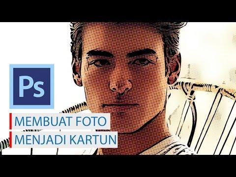 Mengedit Foto Menjadi Kartun Menggunakan Photoshop CS6
