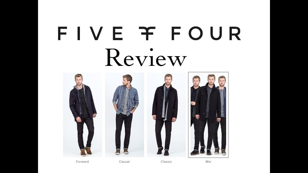 five four club review great subscription clothing service youtube. Black Bedroom Furniture Sets. Home Design Ideas