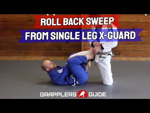 Roll Back Sweep Using Single Leg X-Guard by Jason Scully