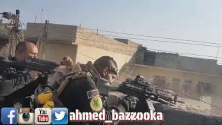 جديد.. ابطال جهاز مكافحة الارهاب في الموصل يحاصرون 4 دواعش اجانب الجنسية في حي الجماسة