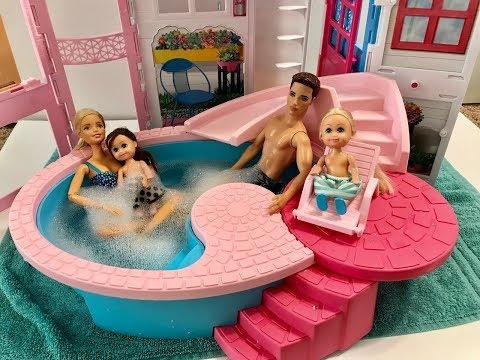 Barbie Hot Tub! New Pool!