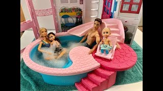 Barbie Hot Tub! New Pool!