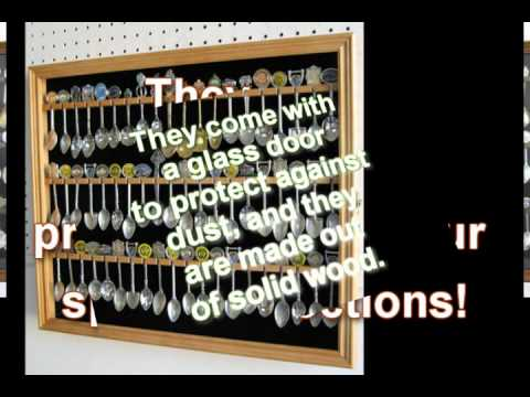 Organize your Souvenir Spoon Collection with Spoon Racks and ...