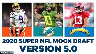 FULL First Round NFL Mock Draft WITH Trades | 2020 Super NFL Mock Draft 5.0 | CBS Sports HQ