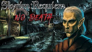 Skyrim - Requiem (без смертей, макс сложность) Альтмер-маг  #36 Битва с Алдуином