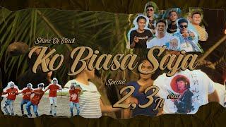 KO BIASA SAJA - SHINE OF BLACK x M.A.C