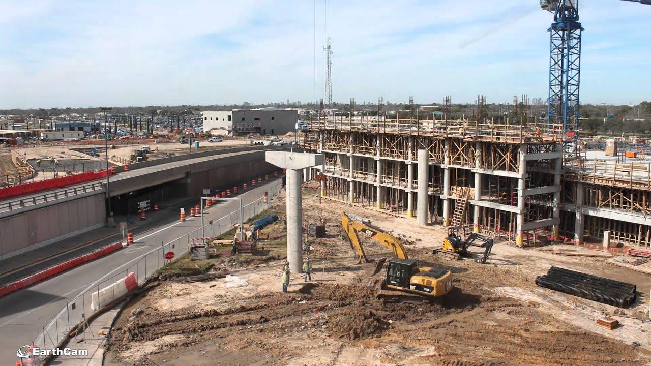 Houston Airport Hobby International Terminal Construction