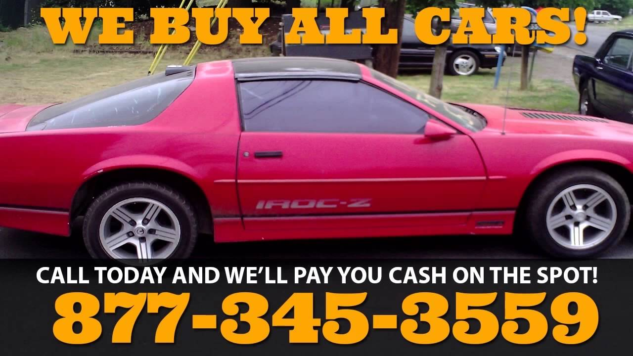 Sell Car Junkyard North Carolina NC - YouTube