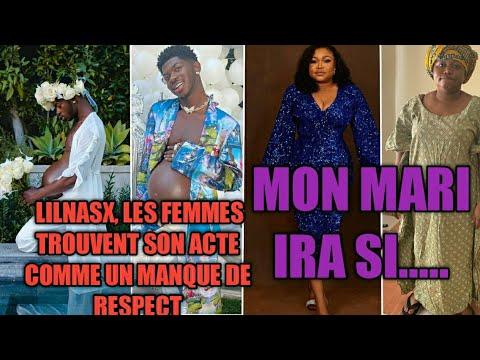 Download RUTH KADIRI, MON MARI IRA SI, LILNASX, LES FEMMES TROUVENT SON ACTE COMME UN MANQUE DE R£SPECT..