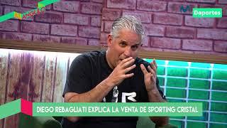 Al Ángulo: Diego Rebagliati explica los detalles de la venta de Sporting Cristal