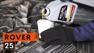 rear and front Brake cylinder installation ROVER 25: video manual