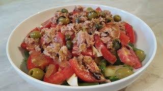 Вкусный и лёгкий французский салат