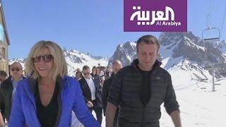 صباح العربية : مرشح الرئاسة الفرنسية يتزوج معلمته !