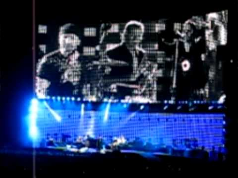 U2 live in ROME 23/07/2005 multicam vertigo tour  (an irish wedding in Rome)