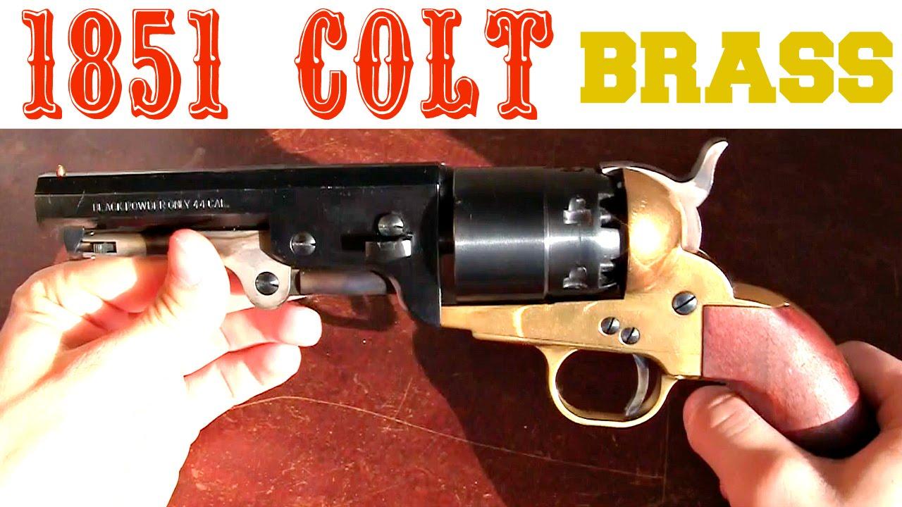 Pietta 1851 Brass Colt Navy Black Powder Review