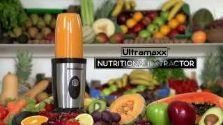 Ultramaxx Nutritional Extractor: Smoothie blender - manillo.dk