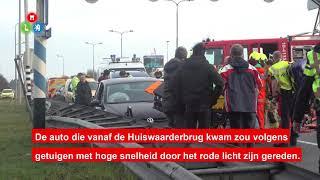 Ernstig ongeval Martin Luther Kingweg in Alkmaar
