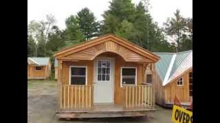 12x20 Rental Cabin Home Office Jamaicacottageshop.com