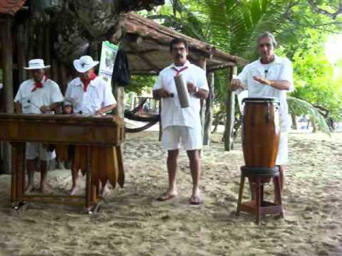 Traditional Costa Rican Music Performance Tortuga Island Costa Rica Youtube