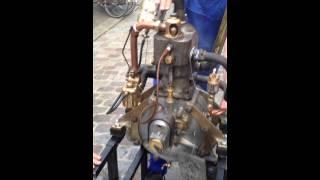 5) Moteur De Dion Bouton 1903 945 cm3 Monocylindre 4 temps refroidissement par eau