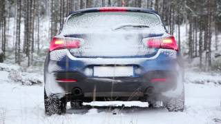 BMW M140iA xDrive - Kylmäkäynnistys -19 °C ja kierrätystä