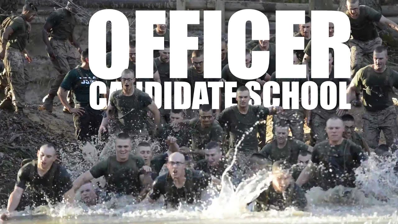 Ocs making marine officers youtube - Officer training school marines ...