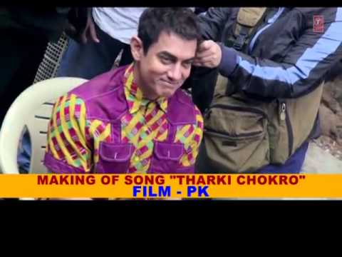 Making of the song 'Tharki Chokre from the movie PK